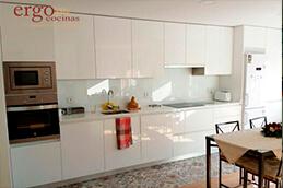 Diseño de Cocinas Blancas 1 en Madrid Slider