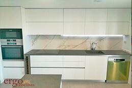 Diseño de Cocinas Blancas 2 en Madrid Slider