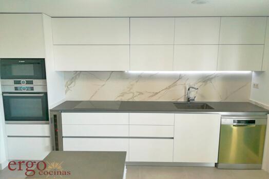 Diseño de Cocinas Blancas 2 en Madrid