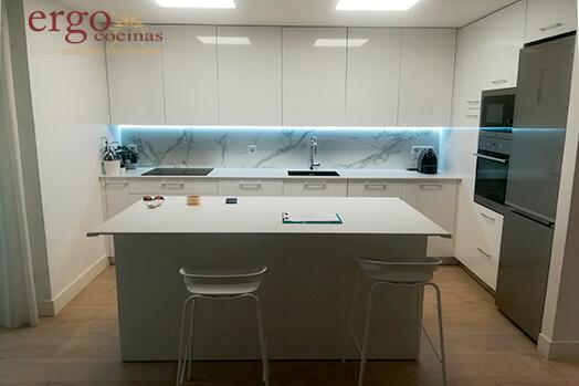 Diseño de Cocinas con Isla en Madrid