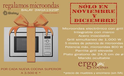 OFERTA : Promoción Cocina Muebles y Encimera : Regalo Microondas Balay