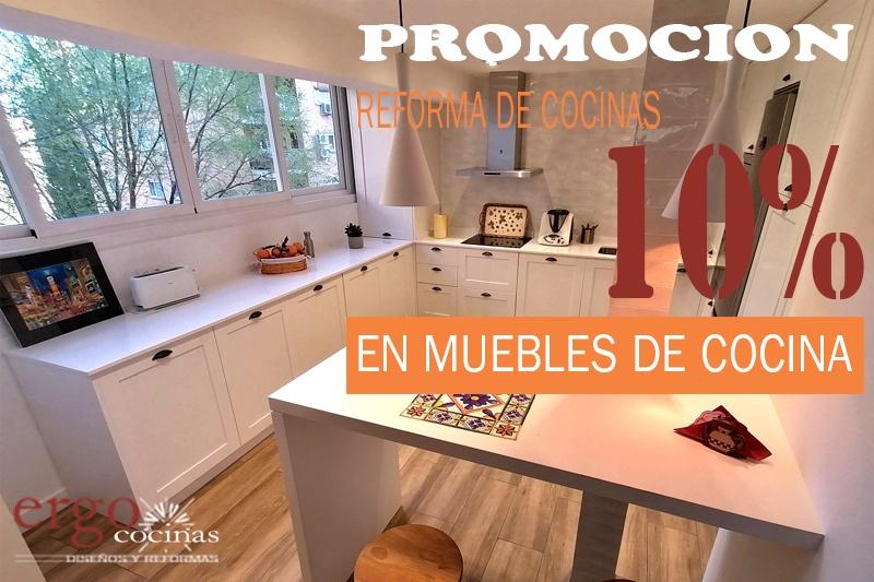 Promoción: 10% Descuento en los Muebles de Cocina | 2021
